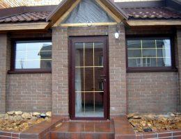 Фото двери ПВХ — 012